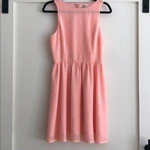 BB Dakota Peach Dress